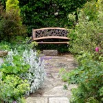 Garden-with-bench